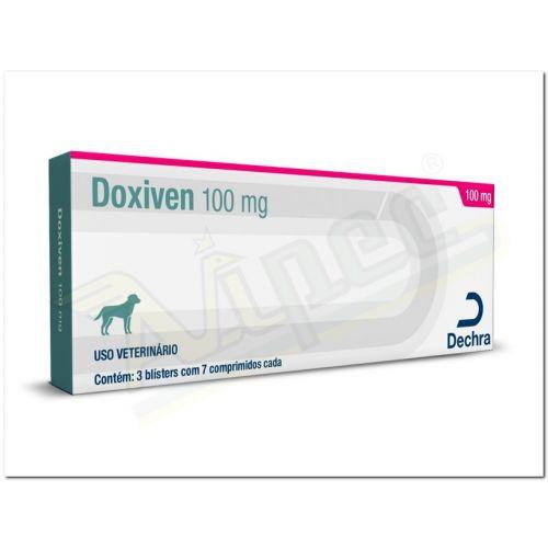Imagem do produto DECHRA - DOXIVEN 100MG C/21 COMP.