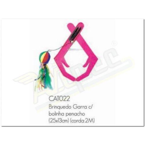 Imagem do produto BRINQUEDO GARRA COM BOLINHA PENACHO